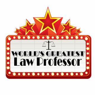 El profesor de derecho más grande del mundo esculturas fotograficas