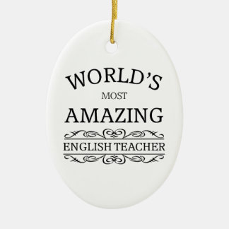 El profesor de inglés más asombroso del mundo adornos de navidad