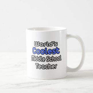 El profesor de la escuela secundaria más fresco taza