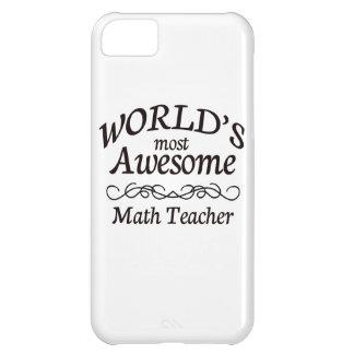 El profesor de la matemáticas más impresionante de funda para iPhone 5C