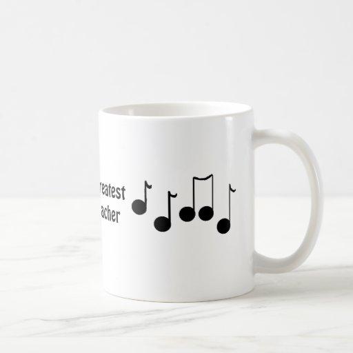 El profesor de la música más grande del mundo taza de café