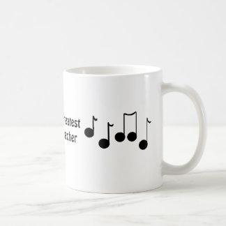 El profesor de la música más grande del mundo taza clásica