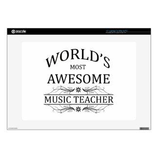 El profesor de la música más impresionante del mun portátil skins