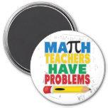 El profesor de matemáticas tiene problemas imanes de nevera