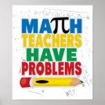 El profesor de matemáticas tiene problemas impresiones