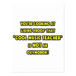 El profesor de música fresco no es un Oxymoron Tarjeta Postal