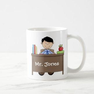 El profesor de sexo masculino más grande del mundo taza de café