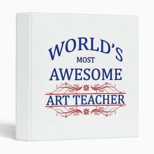 """El profesor del arte más impresionante del mundo carpeta 1"""""""