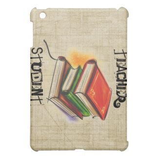El profesor/el estudiante de los libros añade el c
