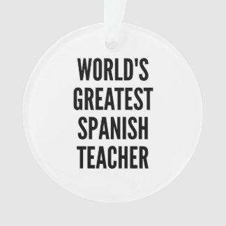 El profesor español más grande de los mundos