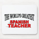 El profesor español más grande del mundo tapete de raton