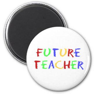 El profesor futuro embroma el regalo iman para frigorífico