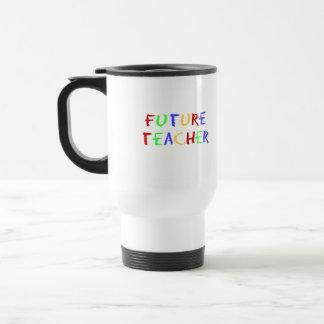 El profesor futuro embroma el regalo taza