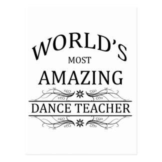 El profesor más asombroso de la danza del mundo postal