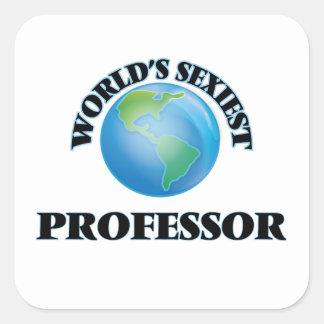 El profesor más atractivo del mundo colcomanias cuadradases