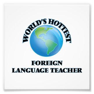 El profesor más caliente del idioma extranjero del fotografia