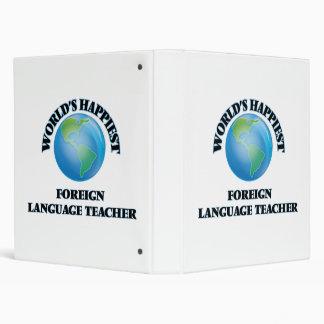 """El profesor más feliz del idioma extranjero del carpeta 1"""""""