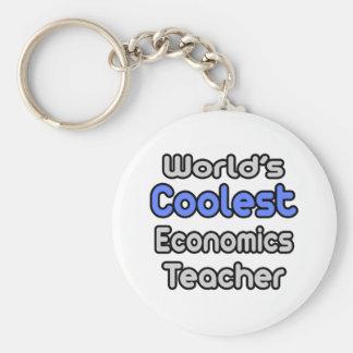 El profesor más fresco de la economía del mundo llaveros personalizados