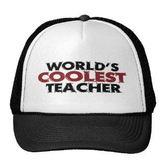 El profesor más fresco de los mundos gorro de camionero