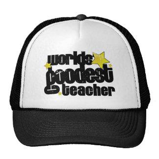 el profesor más goodest de los mundos gorro de camionero