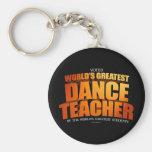 El profesor más grande de la danza del mundo llavero