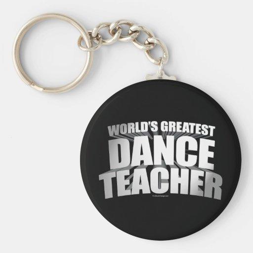 El profesor más grande de la danza del mundo llaveros