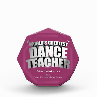 El profesor más grande de la danza del mundo