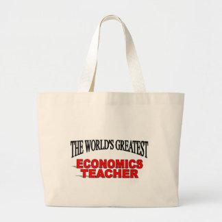 El profesor más grande de la economía del mundo bolsa tela grande