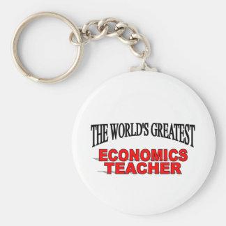 El profesor más grande de la economía del mundo llaveros