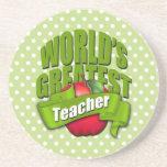 El profesor más grande de los mundos posavasos diseño