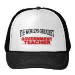 El profesor más grande del gobierno del mundo gorras de camionero