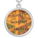El profesor más grande del mundo joyerias personalizadas