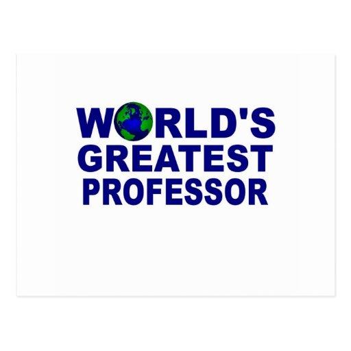 El profesor más grande del mundo postal
