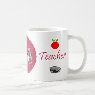 El profesor más grande del mundo taza básica blanca
