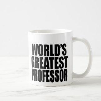 El profesor más grande del mundo tazas