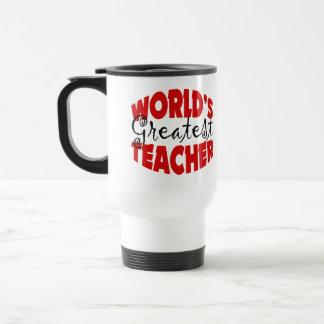 El profesor más grande del mundo tazas de café