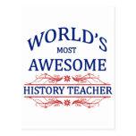 El profesor más impresionante de la historia del m tarjeta postal