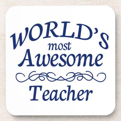 El profesor más impresionante del mundo posavasos