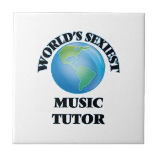 El profesor particular más atractivo de la música tejas