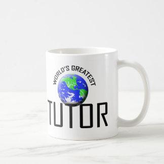 El profesor particular más grande del mundo taza de café
