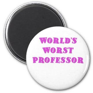El profesor peor de los mundos imán redondo 5 cm