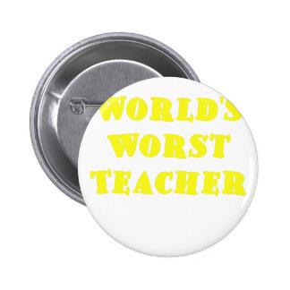 El profesor peor de los mundos pin