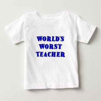 El profesor peor de los mundos playera