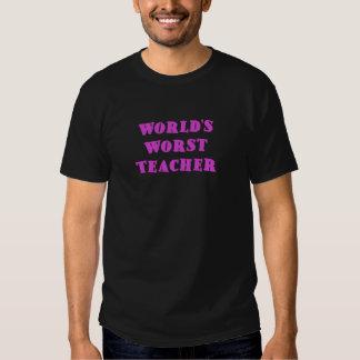 El profesor peor de los mundos remera