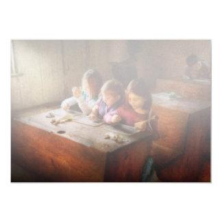 El profesor - sala de clase - educación puede ser invitacion personalizada