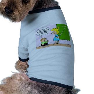 el profesor x del niño de la álgebra iguala ayer d camiseta de perro