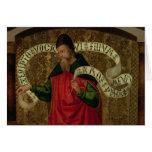 El profeta Amos, 1535 Tarjeta De Felicitación
