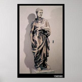 El profeta Jeremiah 1423-27 Poster