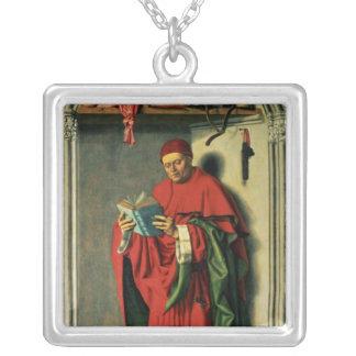 El profeta Jeremiah, 1443-45 Colgante Cuadrado