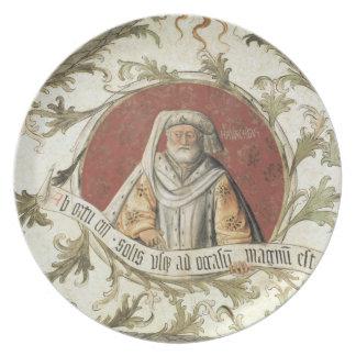 El profeta Malachi, del d'Annunciazio de la logia Platos